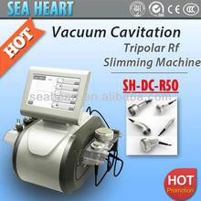 Skin Tightening Face Liftting Bipolar +Vacuum Cavitation RF Tripolar RF Machine