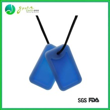 Hot Sale Popular Colorful silicone blue new design dog tags wholesale