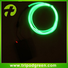 So beautiful,super bright el wire with 2AA battery inverter,glow in dark