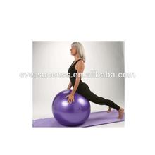 eco friendly swiss ball yoga ball anti burst purple