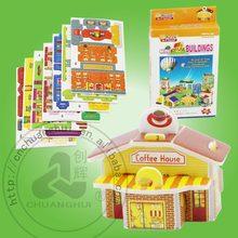 Paper 3D Puzzle Small House Mini building