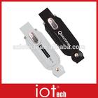 2GB Custom Logo Printed Cheap Leather USB Flash Drive for Gift