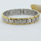 Diy Far Infrared Gold Energy Magnetic Bracelet