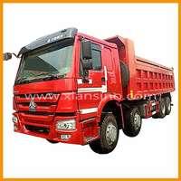 2014 heavy duty off road truck howo 8X4 dump truck