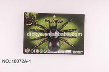white web halloween spider toy