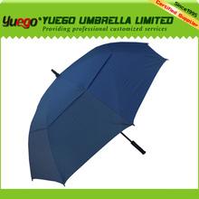 High quality fiberglass promotional golf umbrella abaya wholesale