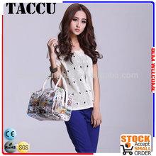 Taccu TH1202 High quality floral handbag,2014 the most popular handbag
