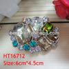 cheap wholesale metal rhinestone crystal decorative shoe clip