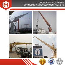 Small Hydraulic Cranes for marine, ship, vessel, boat deck