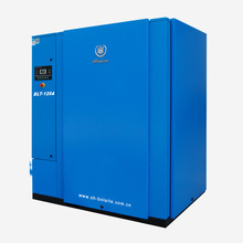 90kw screw air compressor with low pressure