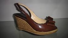 Black high heel wedge sandals women sandals