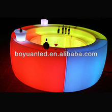 led night club furniture/used led bar counter tops manufacturers