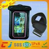 phone bag for iphone waterproof case, PVC waterproof pouch for cell phone