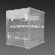 Transparent custom custom acrylic hamster cage