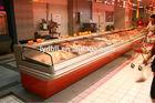 platform meat display freezer,commercial fresh meat refrigerator,meat cooler