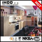 2014 Modular Prefab Kitchen Cabinet Solid Wood