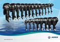 En kaliteli 2.5 beygir için 60hp dıştan takma motor/tekne motor hidea fabrika