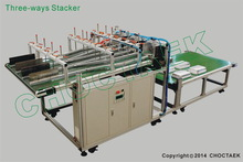 The stacker for collecting aluminium foil food container