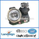 High quality and low price Cixi landsign XLTD-618 Mini Cute Led Solar Owl Garden /Park Light