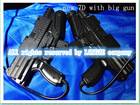 7D interactive cinema /kino/films/movies with interactive big imitation gun shooting game