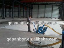 shot blasting machine cleaning concrete epoxy