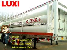 Compressed Natural Gas Trailer Skids, Jumbo Seamless Cylinder