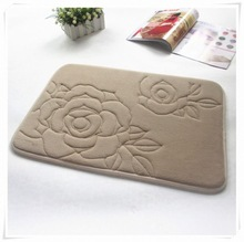 Low price best selling 6mm non-slip purple eco foam yoga mat/Memory foam bath mat_ Qinyi