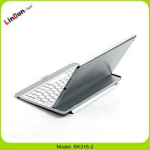 Aluminium wireless bluetooth keyboard cover for iPad 5 BK316-2