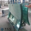 venda quente vidro temperado toldos