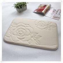 2014 popular design printed removable memory foam bath mat/Memory foam bath mat_ Qinyi