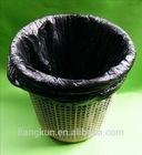 Black garbage bags/garbage plastic bags