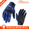 Rigwarl 2014 new arrival professional blue cycling sports motorcycle gloves for sale