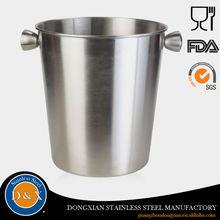 3.4L barware oval stainless steel metal ice bucket