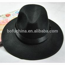 Wholesale wide brim fedora hat/cheap fedora hats for men