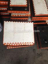 Ceramic and Rubber Composite Liner