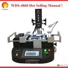 PCL Control ! WDS-4860 soldering and desoldering bga/chip mobile bga repair machine for mainboard