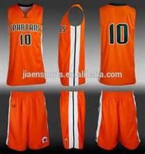 orange basketball uniforms set used basketball uniforms
