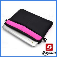 11.6 inch laptop bag Notbook Cross Body Bag HOT PINK & BLACK laptop sleeves