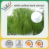 Herbal extract natural aspirin 25% slicin high quality white willow bark extract salicin powder