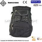 black waterproof Motorcycle Backpack, all weather motorcycle helmet backpack