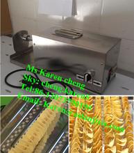 potato spiral cutting machine/spiral potato cutter