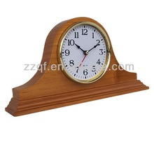 promotional wooden antique table clock