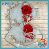 Red&White Infant Toddlers Headband with Belt 2014 Newest Accessories