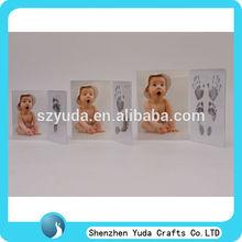 la costumbre de mesa de acrílico transparente de la huella baby lindo marco funny baby marco de fotos sexy imagen marco de fotos al por mayor