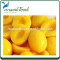 fino en conserva fresco amarillo melocotón en almíbar