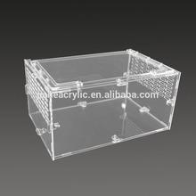 Superior quality acrylic bird cage pet cage