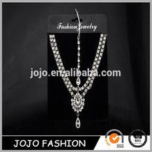 Head piece jewelry indian head chain wedding hair accessories