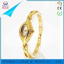 watch brand design diamond stainless steel back luxury design watch
