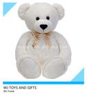 custom high quality unstuffed plush teddy bear skin