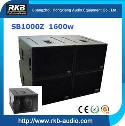 SB1000Z Powerful touring subwoofer speaker
